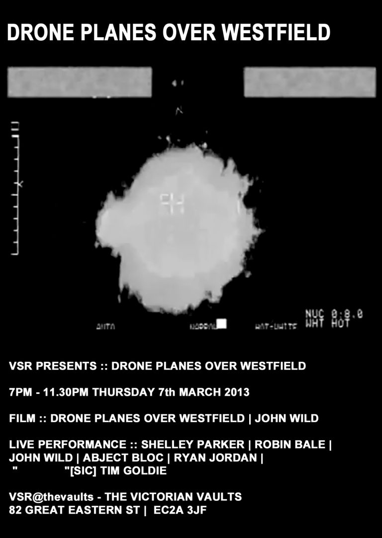 DRONE PLANES OVER WESTFIELD