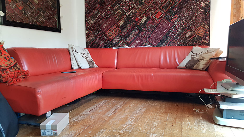 Photo of a John wild's Orange Settee